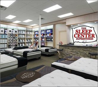 A Modern Mattress Showroom