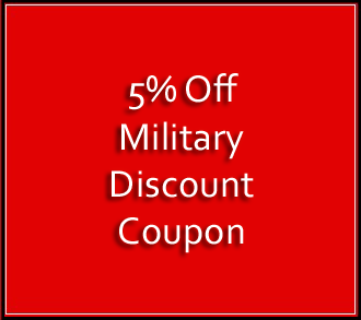 Military Discount Coupon