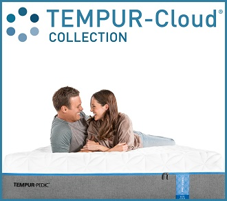 Tempur-Pedic Cloud Collection Showroom